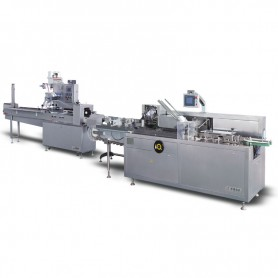 JD-FW-300C/JDZ-120 Flowpacks packaging and Cartoning Line