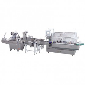 JDZ-260 Flowpack Wrapping Cartoning Machine in Line