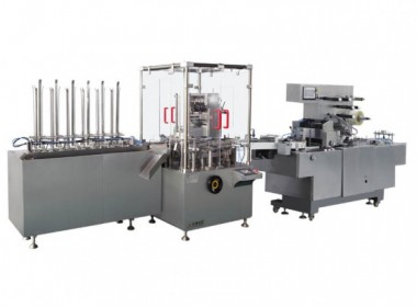 The automatic stop of the aluminum-plastic plate cartoning machine
