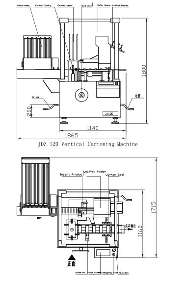 JDZ-120T -Cartoning Machine for condom